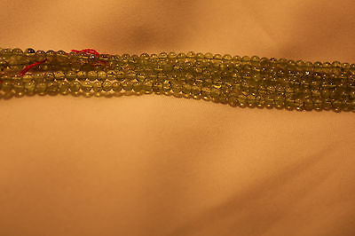 5reihiges Armband Peridot Silber 18cm 4mm