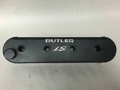 Butler LS Anodized Black Valve Covers with Laser Etched logo