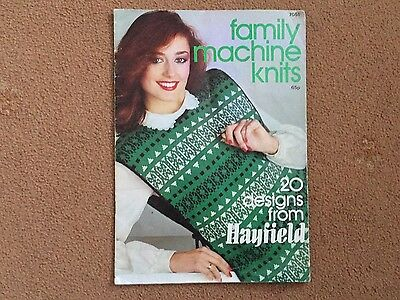 Family Machine Knits..for 5mm. Machines