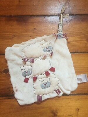 "Mamas & Papas ""light Of The Moon"" Collection Soft Cot Toy/comforter"