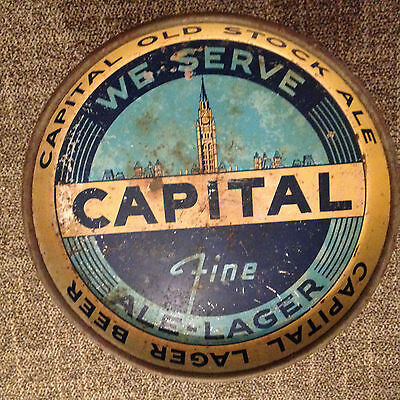 Vintage Capital Brewery serving tray