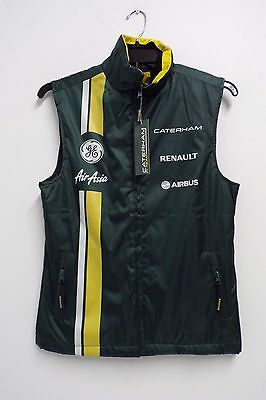 CATERHAM F1 TEAM GILET MENS XS NEW with TAGS