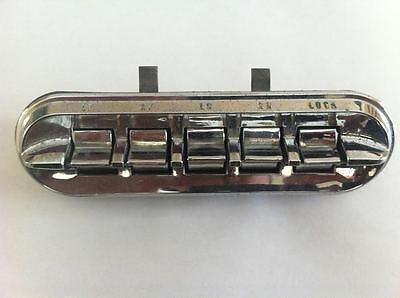 1961,62,63,64   Ford Galaxie, Mercury Full Size  Power Window Master Switch