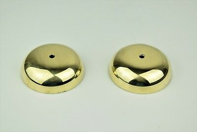 "Vintage Antique Wood Wall Telephone Solid Brass Bells - 3"" -  SKU - 22325"