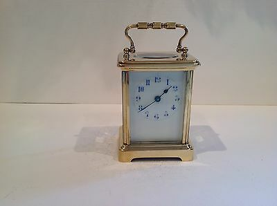 Beautiful Antique French Carriage Clock Completely Overhauled In December 2016