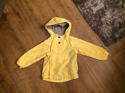 Boys Marks And Spencer Little Rain Jacket Age 12-18 Months