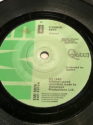 "Queen - Play The Game Irish 7"" Single"