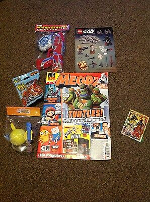 MEGA! Magazine #49 - 5 GIFTS! (TEAM TECHNO LEGO NINJAGO LIMITED EDITION CARD!)