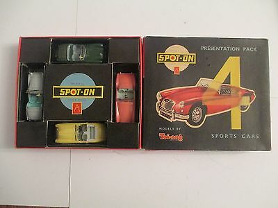 SPOT-ON SPORTS CAR PRESENTATION PACK No 4a (ORIGINAL)