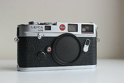 Leica M6 Classic 35mm Rangefinder Film Camera Body Only