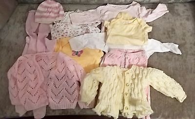 Bundle baby girls clothes age 3-6 months
