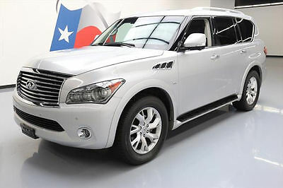 2014 Infiniti QX80 Base Sport Utility 4-Door 2014 INFINITI QX80 THEATER SUNROOF NAV REAR CAM DVD 51K #554791 Texas Direct