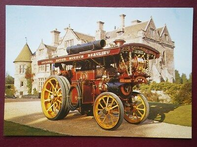 Postcard  Lord Nelson' Burrell Showman Engine No 3443