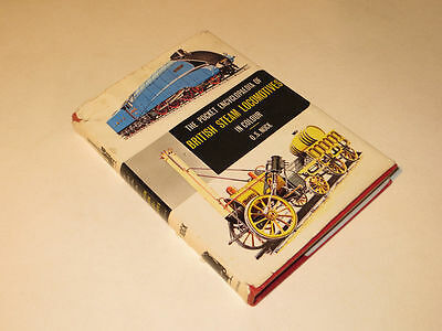 Pocket Encyclopaedia of British Steam Locomotives in Colour, by O S Nock