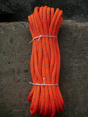 """New England Static Line Low Stretch Rope  Climbing, Rappel, Tag Line 1/2"""" x 60'"""