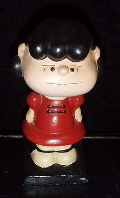 Lucy / Peanuts Vintage Lego Nodder / 1950's / Made  in Japan / Charles Schulz
