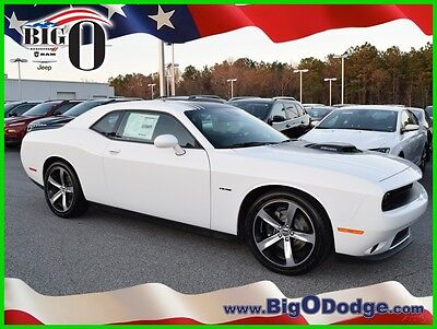 2016 Dodge Challenger R/T Plus Shaker 2016 DODGE CHALLENGER- R/T Plus Shaker New 5.7L V8 16V Manual RWD Coupe Premium