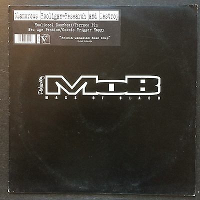 Glamorous Hooligan ‎– Research And Destroy : Delancey Mass Of Black ‎– MOB0
