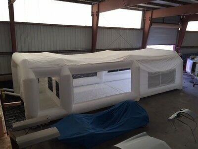 Inflatable Paint Booth Custome Made  14X10X40