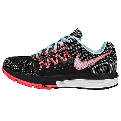 Wmns Nike Air Zoom Vomero 10 Black Blue Pink Womens Running Shoes 717441-401