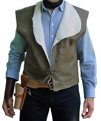 CLINT EASTWOOD Vest - Spaghetti Western Cowboy Design - New - Great Gift