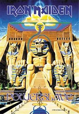 """IRON MAIDEN Rock flag/ Tapestry/ Fabric Poster   """"Powerslave""""    NEW"""