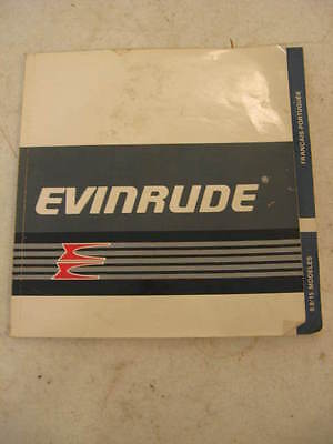 Evinrude Outboard Marine Corp. 9.9 Hp & 15 Hp Useres Manual 1988