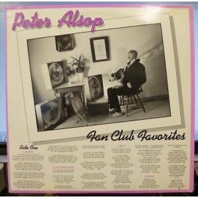 PETER ALSOP Fan Club Favorites LP VINYL US Flying Fish 11 Track Deletion Cut On
