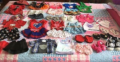 Authentic Build A Bear Clothes And Shoes