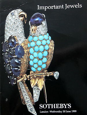 Sotheby's Important Jewels 6/30/99 Sale Code 9242 London
