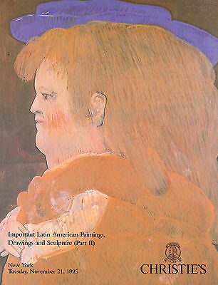 Christie's Latin American Paintings Part II 11/21/95 Auction Catalog