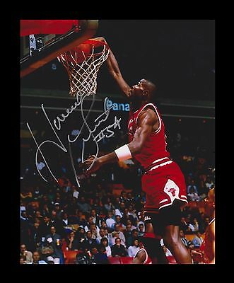 Horace Grant Chicago Bulls NBA Signed Autographed 8 X 10 Photo 20541