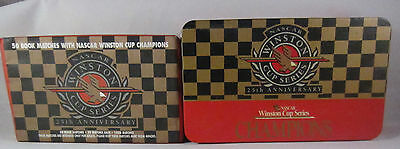 Nascar Winston Cup Series Champions 25th Anniversary 50 Matchbooks Tin Unopened