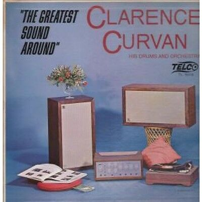 CLARENCE CURVAN Greatest Sound Around LP VINYL US Telco 10 Track Old Reatail