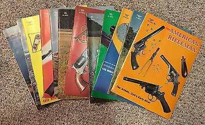 Complete year 1970 American Rifleman Magazines NRA guns 12 issues