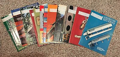 Complete Year 1975 The American RIfleman Magazine NRA Guns 12 issues