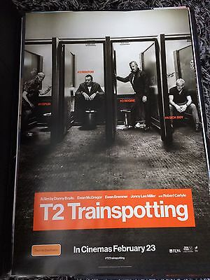 T2 TRAINSPOTTING One Sheet Movie Poster
