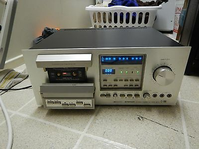 Pioneer Ct-F900 Cassette Deck For Parts or Repair