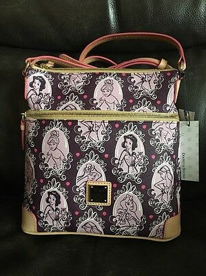 Dooney & Bourke Purple Runway Princess  Crossbody Letter Carrier - New