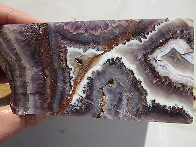 270  Amethyst Lace Rough From Mexico.  Beautiful Material Makes Stunning Cabs