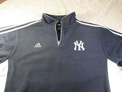 New York Yankees Adidas Sweatshirt Full Sleeve Youth Size Xl(18/20) New With Tag