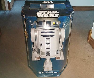 2002 Star Wars R2-D2 Interactive Astromech Droid in Original Package - Works!