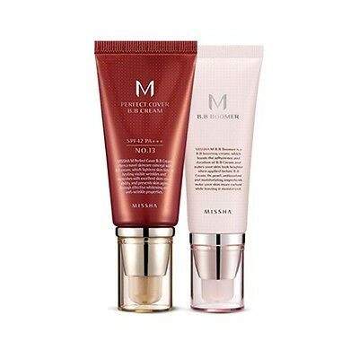 [SET] [Missha] M BB Boomer 40ml + M Perfect Cover BB Cream 50ml