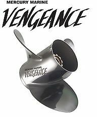 MERCURY Vengeance 3 Blade RH Propeller 48-16320 23P Stainless Steel Propeller