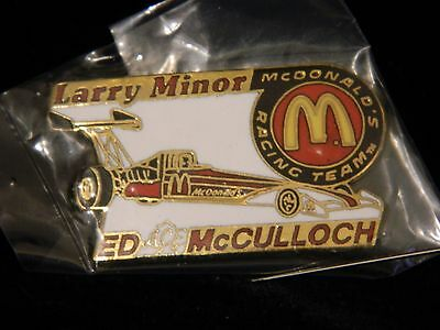 McDonald's Racing Team Dragster Pin Larry Minor Ed McCulloch