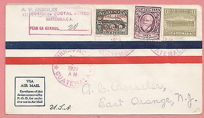 1929 Fam 8 Flight Guatemala To Usa Ac Roessler Aamc Unlisted