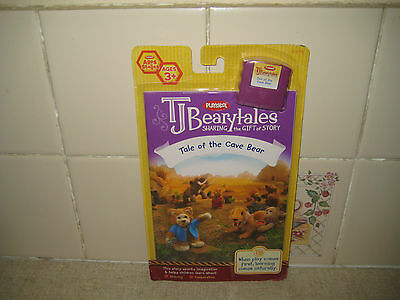 T J Beary Bear -Story Book/cassette-Tale Of The Cave Bear   Nib