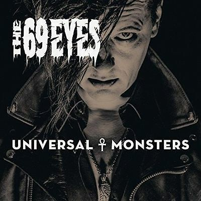 Universal Monsters THE 69 EYES CD ( FREE SHIPPING)