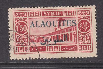 ALAOUITES, SYRIA, 1930 1p.50 overprinted in Black, used.