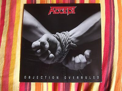 Accept Objection Overruled Lp 1St Press Like New